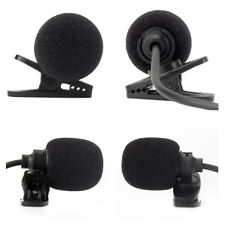 Universal External Microphone MIC Hands Free Radio Alpine Unit Car Stereo Nav