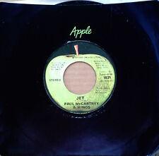 PAUL McCARTNEY & WINGS - JET b/w MAMUMIA - APPLE 45 - 1973