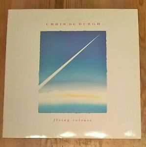Chris de Burgh ‎– Flying Colours Vinyl LP Album 33rpm 1988 A&M ‎– AMA 5224