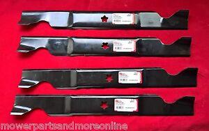 2pr 46 Inch Lawn Mower Blades Craftsman, Husqvarna,  Dixon, AYP. 532 40 53-80