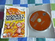Nintendo Wii Game Monkey Mischief Pal UK
