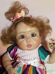 Ooak Art Doll Baby 13 inch , polymer clay by Svitlana