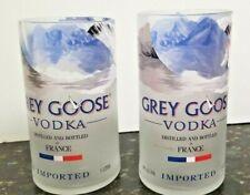 1 Grey Goose Vodka Bottle 1L Hand-cut for a Glass, Vase or Bar Accessory