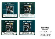 1 x set Xerox drum chip color 550/560/570 cMyb 006r01525 - 006r01526 - 006r01527