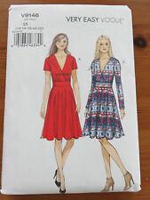 Vogue V9146 Kleid Gr. 14-22