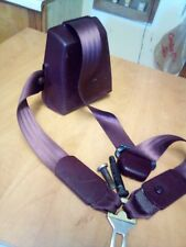 88-94 GMC Chevy Truck Seat Belt Front RIGHT PASSENGER EXTENDED CAB Maroon
