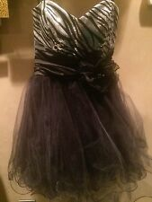 NWOT SHORT COCKTAIL PARTY PROM HOMECOMING BAT MITZVAH DRESS SIZE 3/4