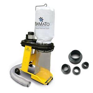 BAMATO Absauganlage AB-550 + Adapterset Späneabsaugung Absaugung Holzabsaugung