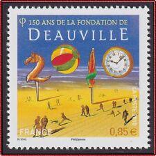 2010 FRANCE N°4452**  150 ans de la fondation de DEAUVILLE, France 2010 MNH