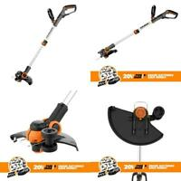 "WORX WG163.9 20V Cordless Grass Trimmer/Edger with Command Feed, 12"" TOOL..."