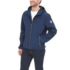 Tommy Hilfiger Mens Jacket Midnight Blue US Medium M Full-zip Hooded 126