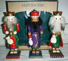 Nutcracker Village OLD WORLD NATIVITY 3 Wise Men in Original Box