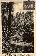 Hlaska U Senohrab Region Říčany Ritschan Postcard Briefmarke Ceskoslovensko