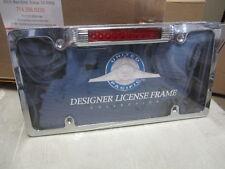 License Plate Frame w/ LED Third Brake Light ALL CARS  TRUCKS TRAILERS new