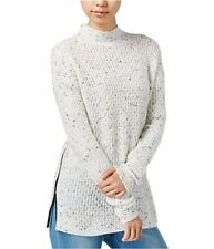 BAR III Womens New Long Sleeve Casual Sweater Ivory Color Size XXL