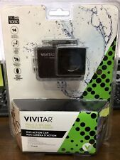Vivitar DVR794HD 1080p HD Wi-Fi Waterproof Action Video Camera Camcorder - Black
