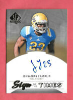 2013 Jonathan Franklin Upper Deck SP Authentic Rookie Auto SOT - Packers