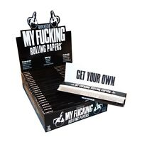 My Fu<king Rolling Papers Funny Rizla Kingsize 24 Packs - Sealed Display Box