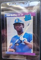1989 DONRUSS #33 KEN GRIFFEY JR ROOKIE CARD RC SEATTLE MARINERS HOF