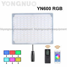 Yongnuo YN600 RGB LED Camera Video Photo Light with Adjustable Color 3200K-5500K