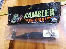 """Gambler Huge Big EZ Swimbait, 8"""" paddle tail  2 pack  Tn Retreiver"""