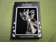 New Harvey Lewis Swarovski Ornament Designs Angel Christmas Ornament