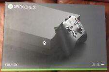 Microsoft Xbox One X Console System 1 1TB 4K BLACK HDR Brand New Sealed NIB