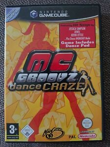 MC Groovz Dance Craze Nintendo Gamecube Game Cube PAL CIB Rare COMPLETE