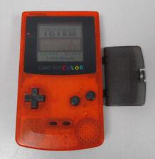 Nintendo GameBoy Color Clear-Orange Black, Daiei Hawks Edition