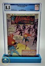 Adventure Comics #381, CGC 8.5, 1969 Beg Supergirl; First full length Supergirl