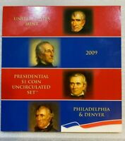 2009 United States Mint Presidential $1 Coin Uncirculated 8 Coin Set ~~