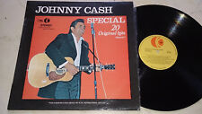 JOHNNY CASH special 20 ORIGINAL HITS VOLUME 1 UNIQUE K-Tel New Zealand press