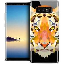 "Coque Housse Etui Pour Samsung Galaxy Note 8 (6.3"") Polygon Animal Souple Fin Ti"