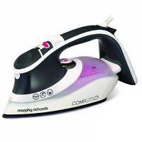 MORPHY RICHARDS 2600W ELECTRIC COMFIGRIP STEAM IRON CERAMIC SOLEPLATE 301020