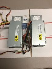 Lot Of 2 AcBel PC7001 Lenovo ThinkCentre M58 280W 24 Pin SFF Power Supply @4D1