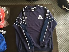 Palace Adidas Crewneck Sweater Jumper S/S 2016 LARGE FITS XL NAVY SOLD OUTP