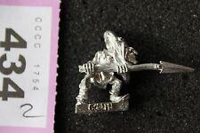 Games Workshop CITTADELLA Goblin GOBBO Classic WARHAMMER Figura Metallo fuori catalogo Orchi G9
