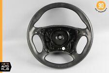 03-06 Mercedes W220 CL55 S55 AMG Sport Steering Wheel w/ Paddle Shifters Black