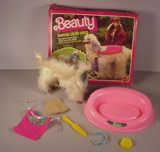 1979 Barbie Doll Dog Beauty Afghan Hound pet in Box Mattel #1018 toy