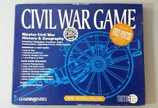 Civil War Game Deluxe Edition 25th Anniversary- EMA Learning Games 2009