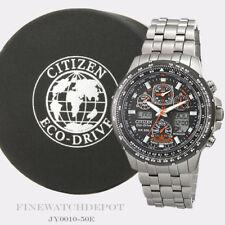 Authentic Citizen Eco-Drive Men's Skyhawk Titanium AT Watch JY0010-50E