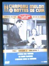 Chapeau melon et bottes de cuir -S2 V7 -1962 -1 DVD - NEUF