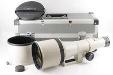 【TOP MINT IN Case】CANON New FD NFD 600mm F/4.5 MF Lens + Hood Trunk Case From JP