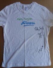 Rare Patty Smyth / Scandal Band Autographed Concert T Shirt Benjy King K. Mack