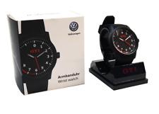 Genuine VW Golf Polo GTI Black Stylish Plastic Waterproof Watch 5KA050830
