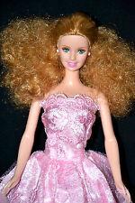 CURLY HAIR PRINCESS BARBIE DOLL