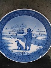 Royal Copenhagen 1977 Annual Immervad Bridge Plate
