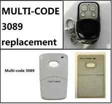 MULTICODE 3089 GARAGE REMOTE CONTROL MULTI CODE REMOTE