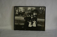 Rare Vintage Victorian Conjuring Ghost Scarey Large Photo Estate Find Old House