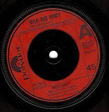"MILK AND HONEY FEATURING GALI ATARI Hallelujah 7"" Vinyl Record Polydor 1979 EX"